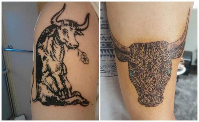 Imágenes de tatuajes de toros