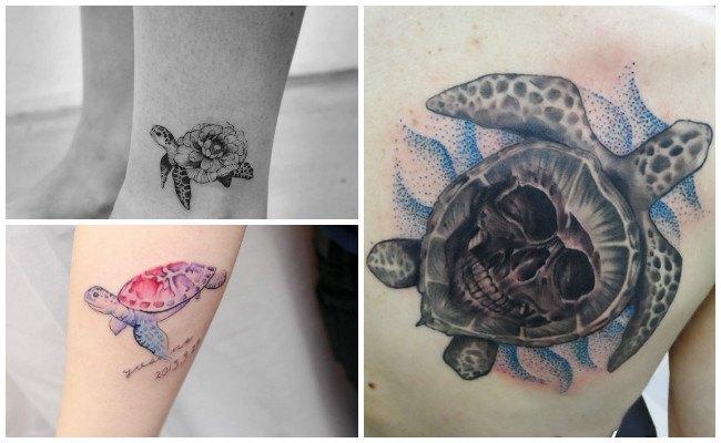 Imágenes de tatuajes de tortugas