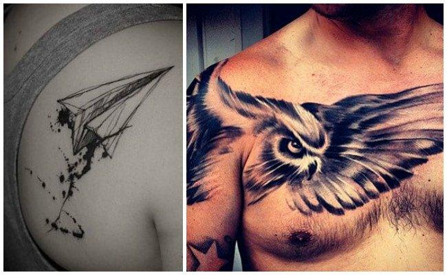 Imágenes de tatuajes en el hombro