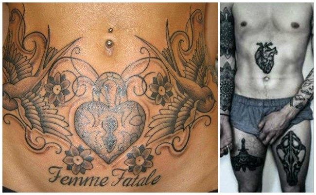 Imágenes de tatuajes en la cadera