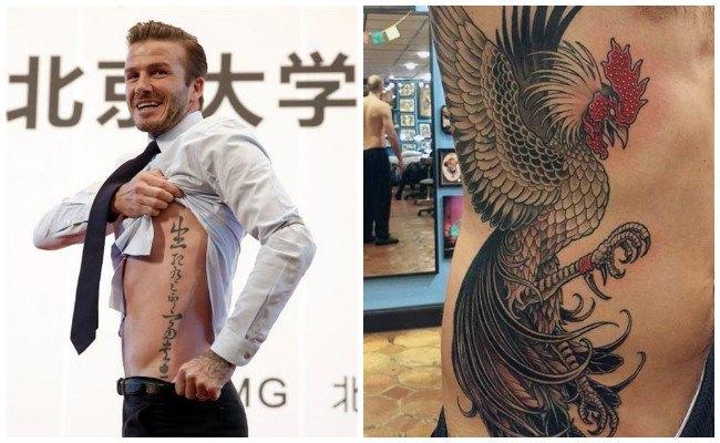 Imágenes de tatuajes en las costillas