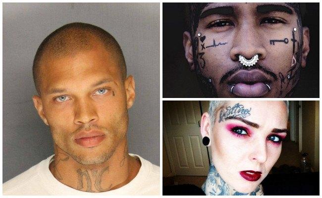 Imágenes de tatuajes en los ojos