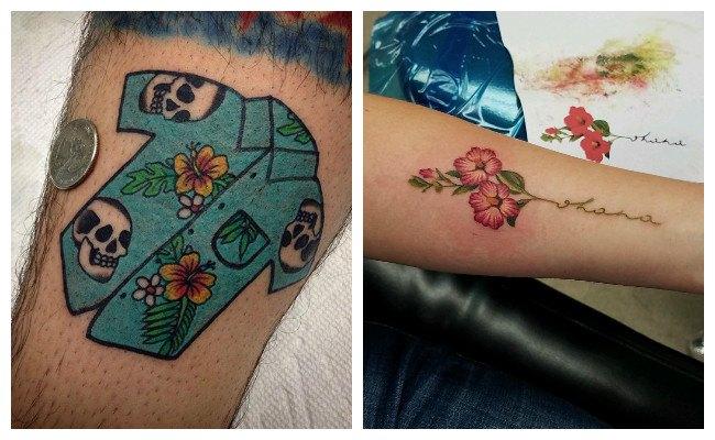 Imágenes de tatuajes hawaianos