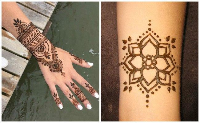 Imágenes de tatuajes de henna para hombres