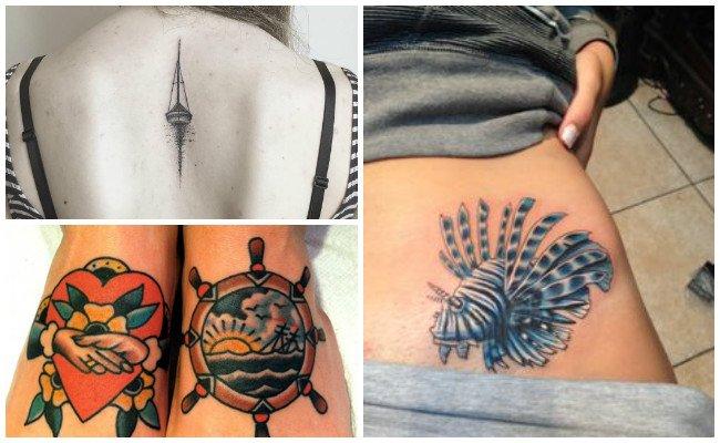 Imágenes de tatuajes marinos