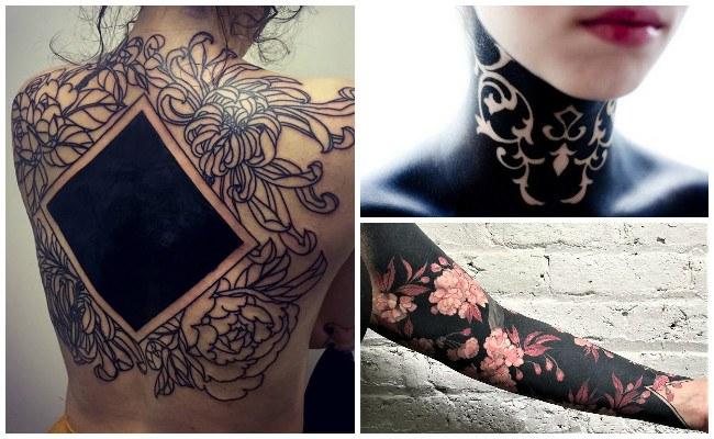 Imágenes de tatuajes negro