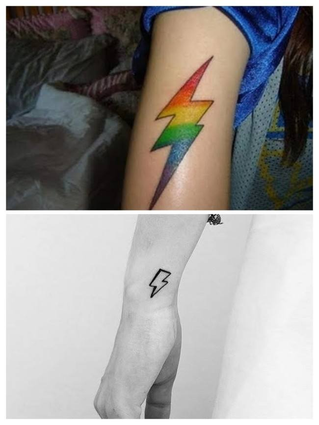 Imágenes de tatuajes de rayos