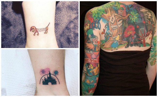 Letras de disney para tatuajes
