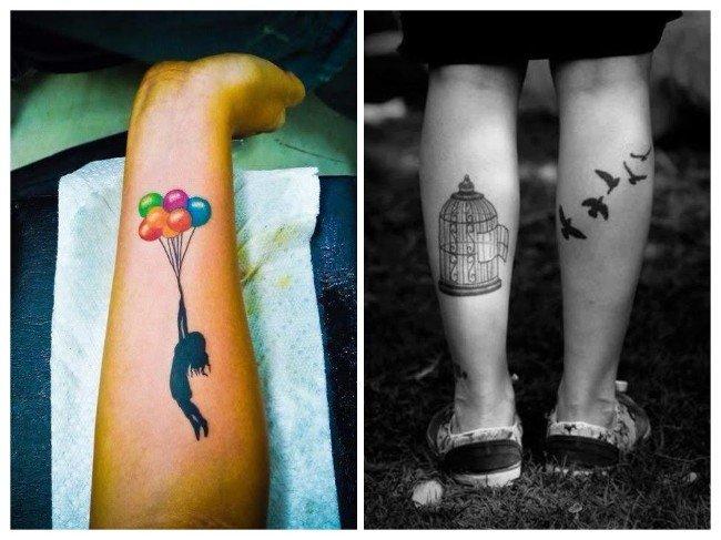 libertad representada tatuaje