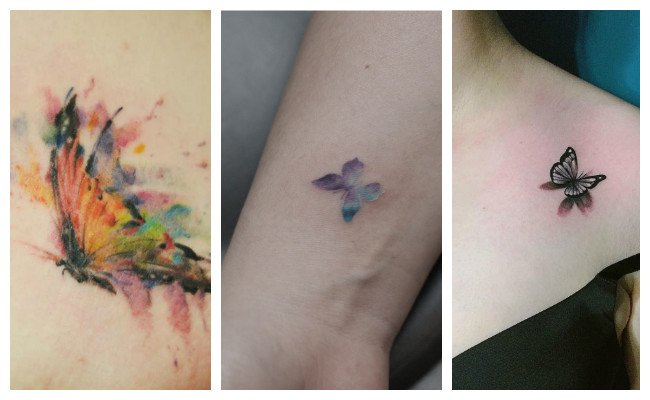 Los mejores tatuajes de mariposas