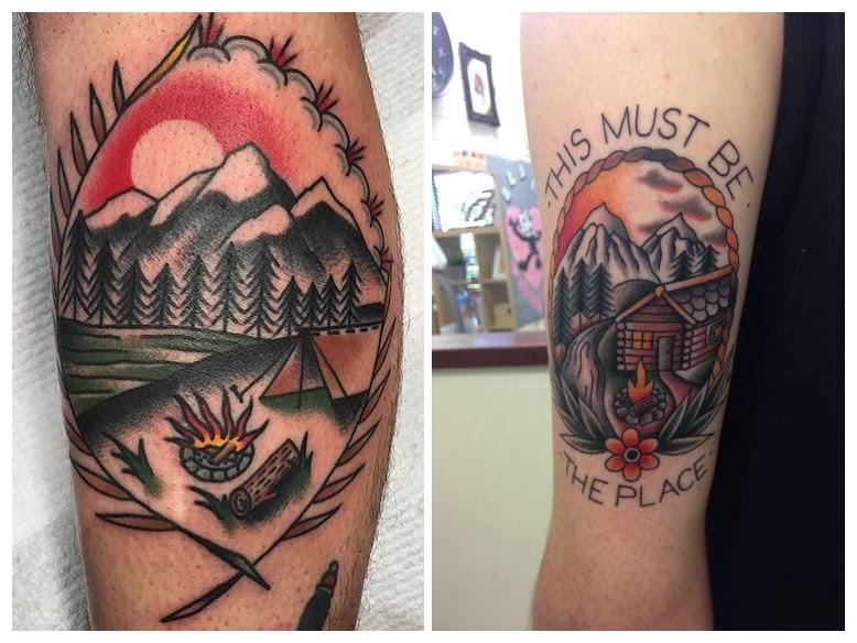 Los mejores tatuajes de montañas