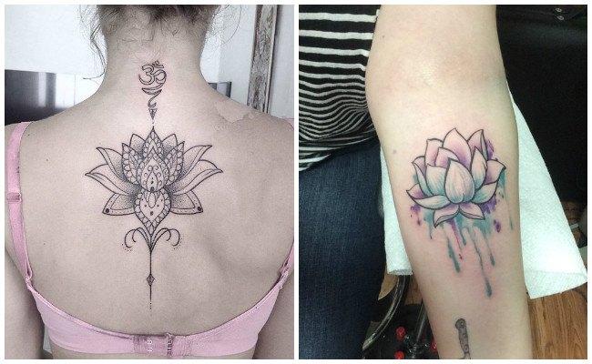 Los mejores tatuajes de flor de loto