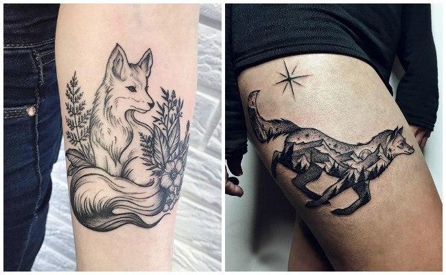 Los mejores tatuajes de zorros