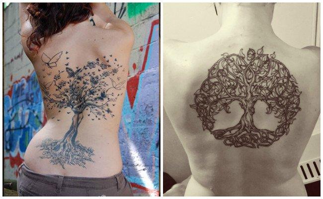 Mejores tatuajes de árbol de la vida