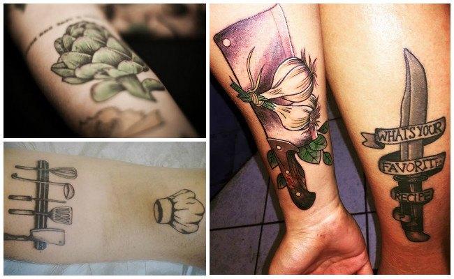 Los mejores tatuajes de chefs