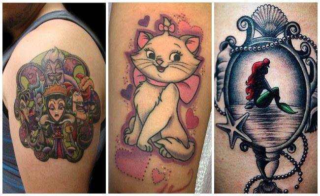 Los mejores tatuajes de disney