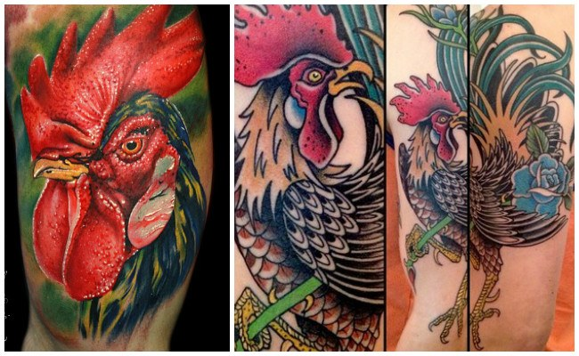 Los mejores tatuajes de gallos