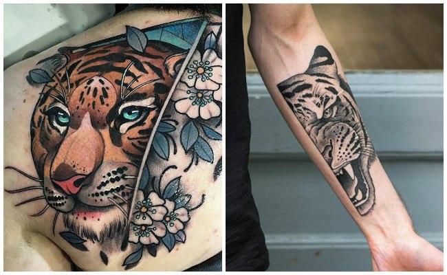 Mejores tatuajes de tigres