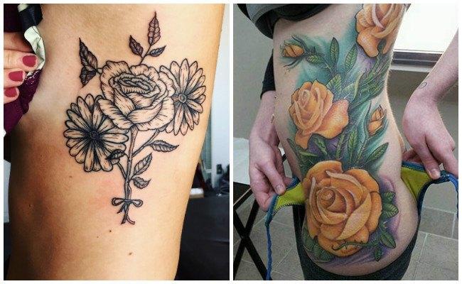 Los mejores tatuajes en las costillas