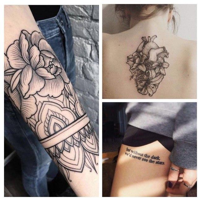 mejores tatuajes para mujeres