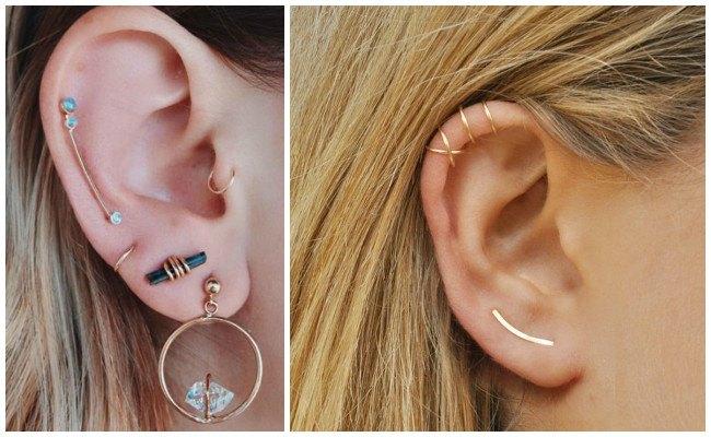 Piercing en la oreja bonitos