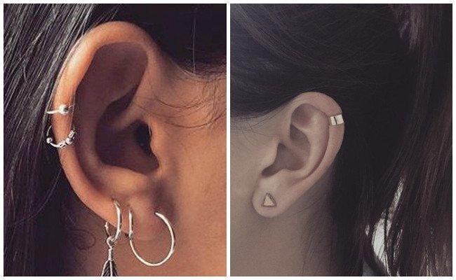 Piercing en la oreja para hombres
