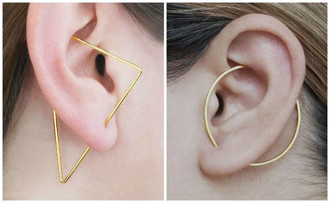 Piercing en la oreja para mujeres