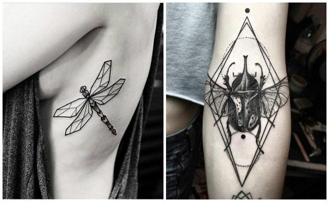 Plantillas de tatuajes geométricos