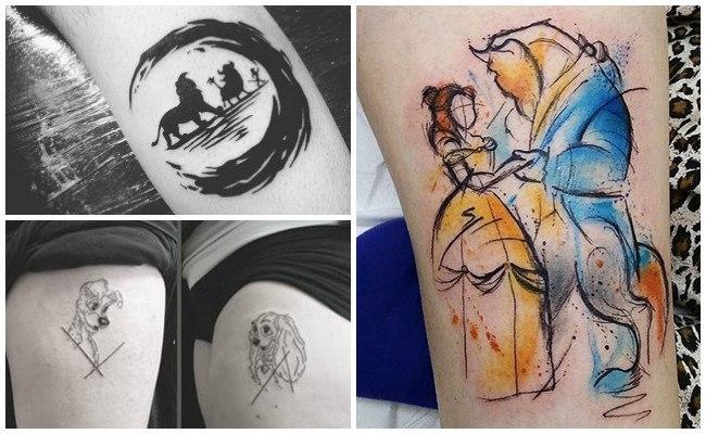 Plantillas de tatuajes de disney