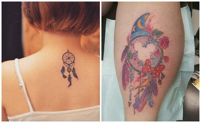 Qué representa el tatuaje de atrapasueños