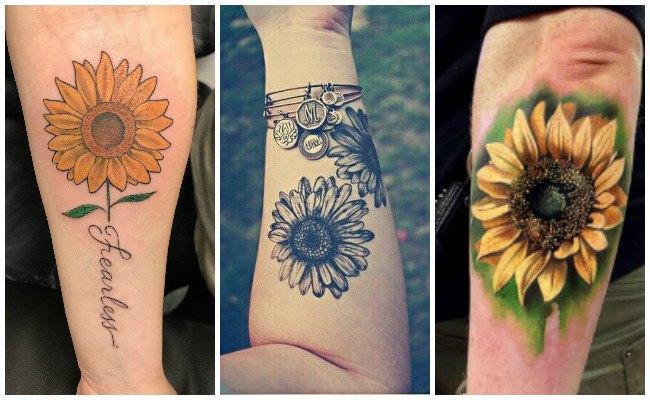 Qué significan los tatuajes de girasoles