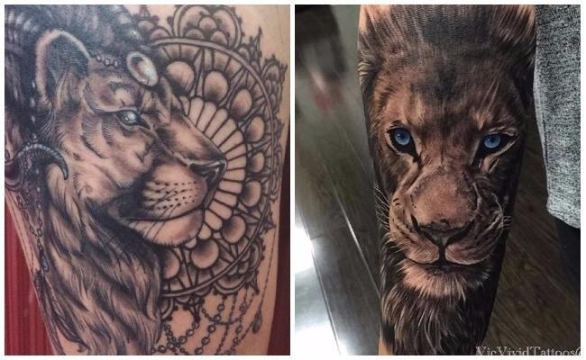 Qué significan los tatuajes de leones