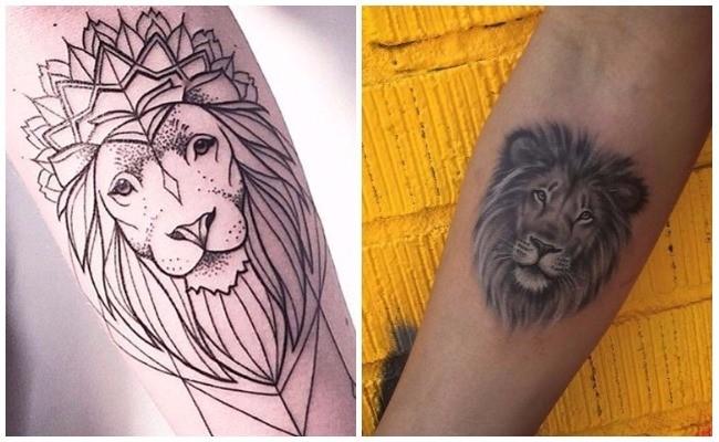Significados de tatuajes de leones