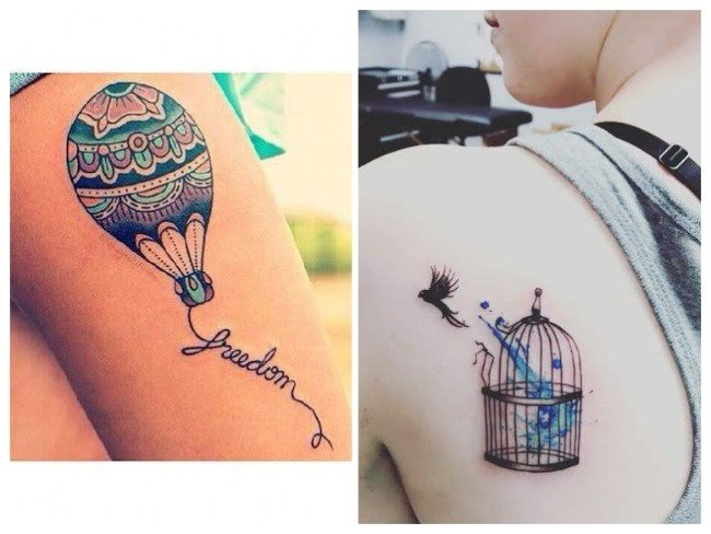 significado libertad tatuajes