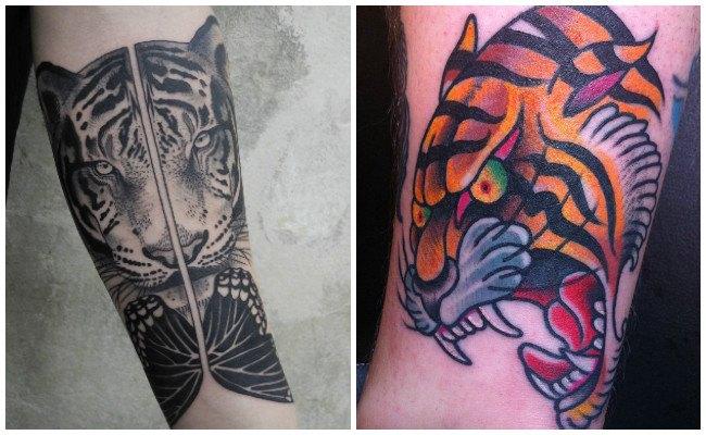 Significado espiritual del tatuaje de tigre