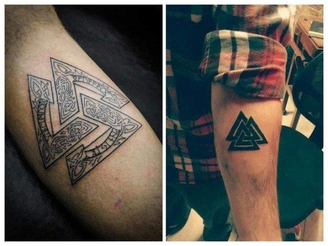 significado tatuaje tres triángulos