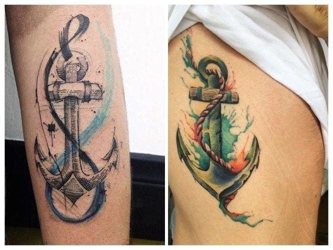 significado de los tatuajes de anclas