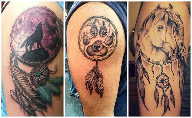 Significados de los tatuajes de atrapasueños