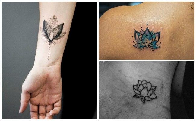 Significado del los tatuajes de flor de loto