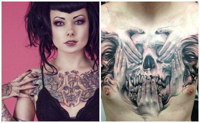 Significado de tatuajes en el pecho