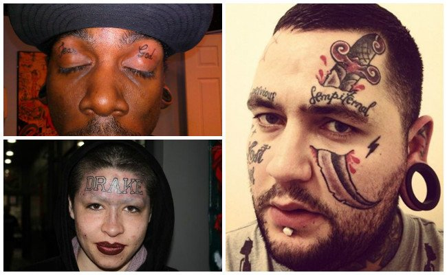 Significado de los tatuajes en la cara