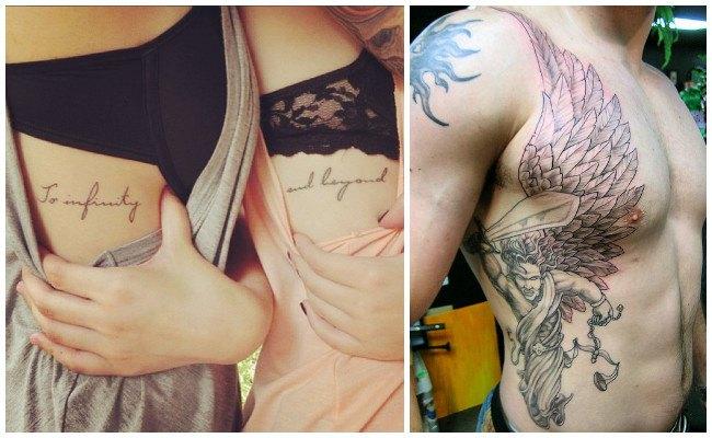 Significado de los tatuajes en las costillas