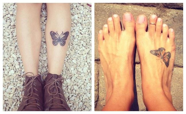 Significado de los tatuajes de mariposas para mujeres