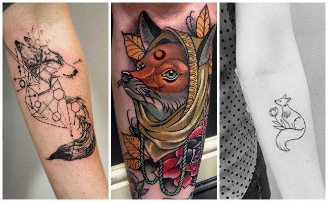 Significado de tatuajes de zorros