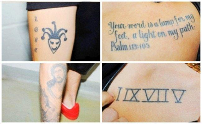 Sudadera de los tatuajes de justin bieber