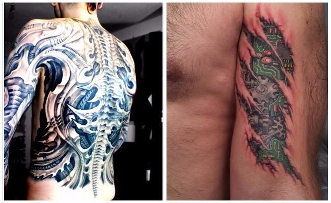 Tattoo de engranaje