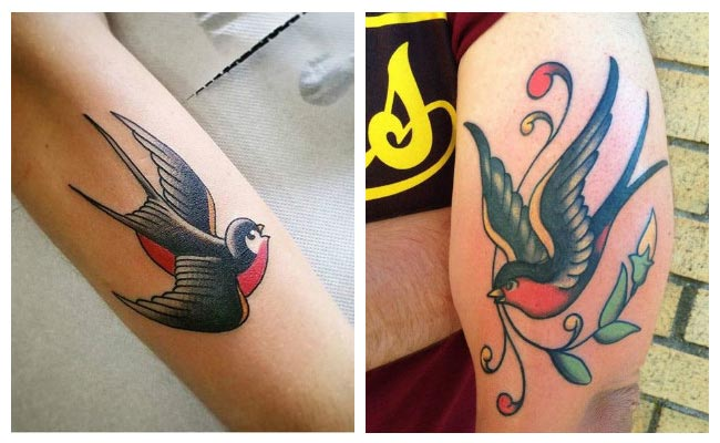 Tattoo golondrinas