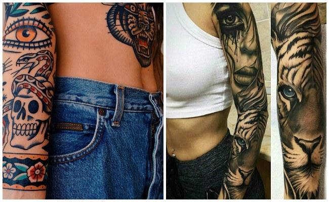 Tattoo de tigre blanco
