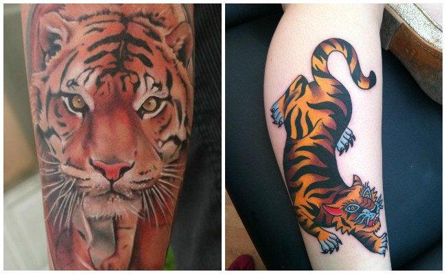 Ideas para tattoo de tigre