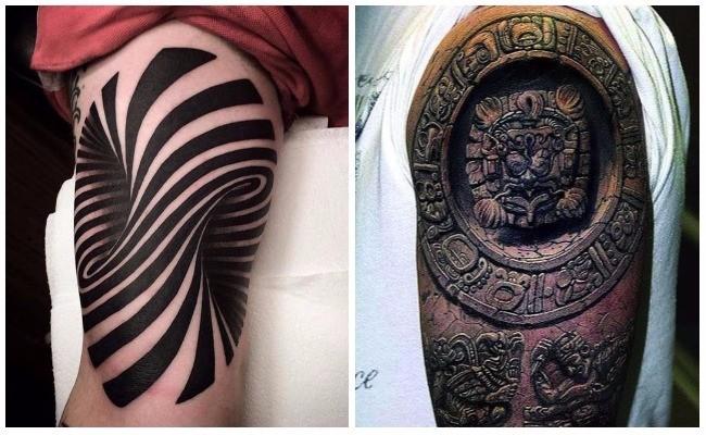 Tattoo tres dimensiones hombres